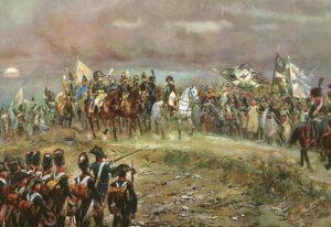 Napoleon nach der Doppelschlacht bei Jena und Auerstädt