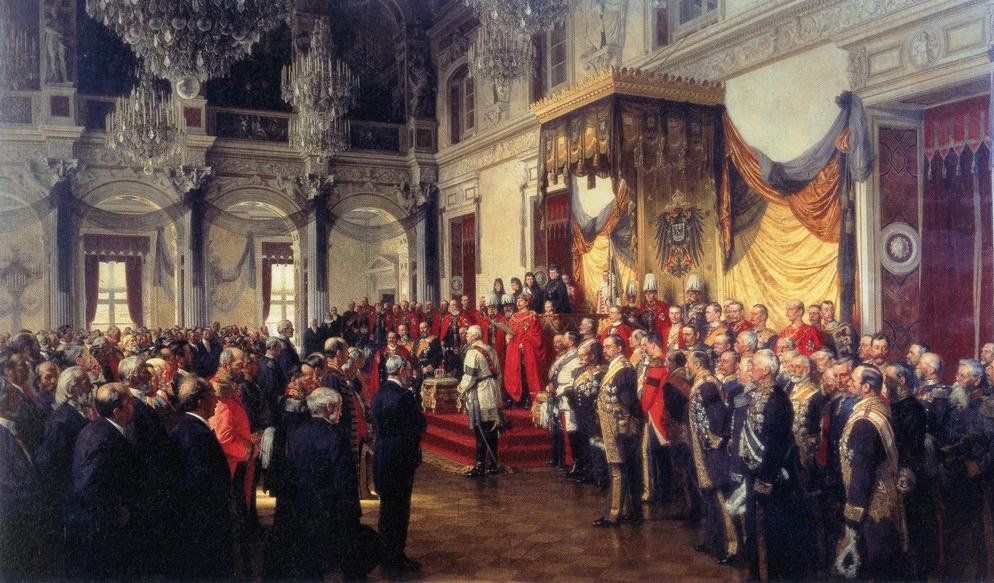 Reichstagseröffnung 1871