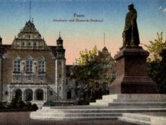 Das Bismarck Denkmal in Posen