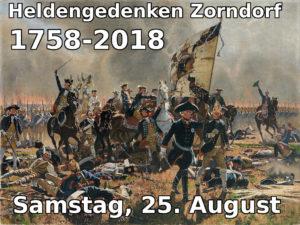 Einladung zum Heldengedenken in Zorndorf