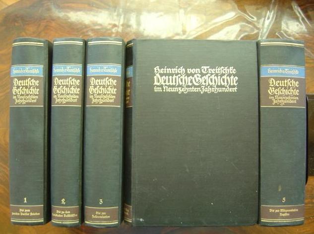 Heinrich von Treitschke - Deutsche Geschichte im 19. Jhd