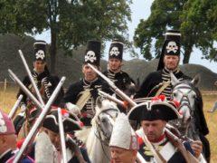 Schwarze preußische Husaren