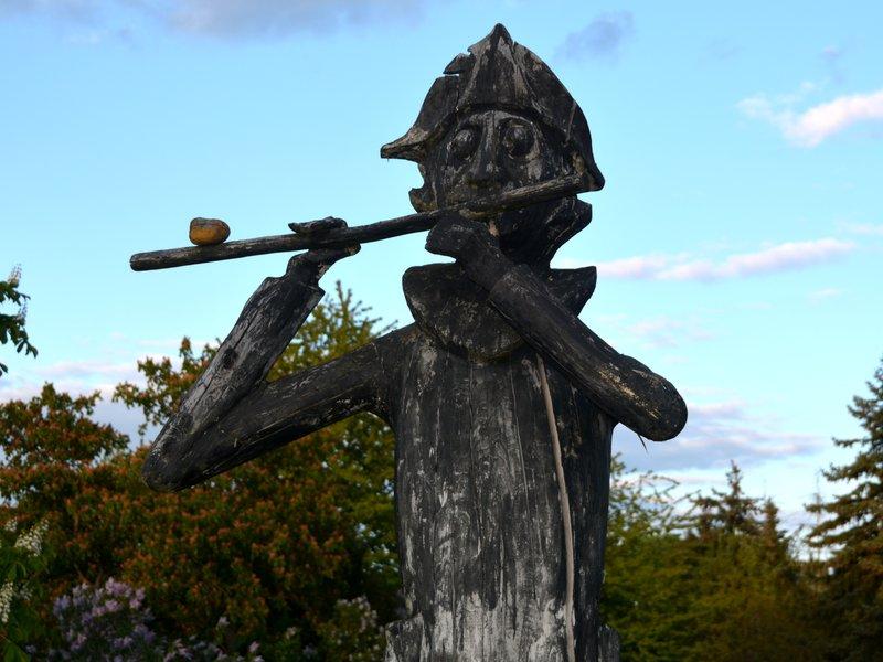 Friedrich der grosse Flötenspieler