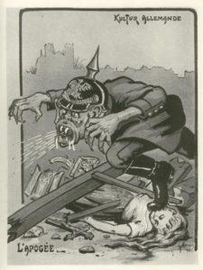 Französische antideutsche Greuelpropaganda