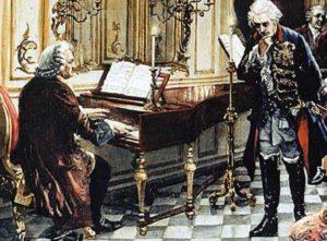 Johann Sebastian Bach bei Friedrich dem Großen
