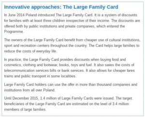 Large Family Card in Poland