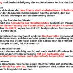 Hochverrat im Allgemeinen Preußischen Landrecht.