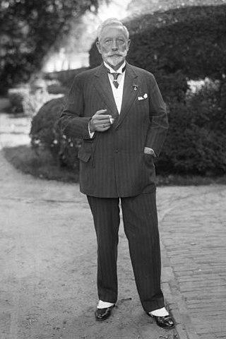 Kaiser Wilhelm II. im Exil in Doorn